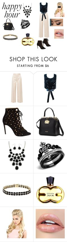 """""""Sans titre #294"""" by susanaxalex ❤ liked on Polyvore featuring The Row, Bionda Castana, Dolce Giavonna and happyhour"""