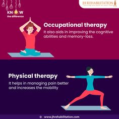 takes a holistic approach and focuses on overall wellness. focuses on improving physical abilities. Botox Injections, Spinal Cord Injury, Muscle Spasms, Bone And Joint, Occupational Therapist, Holistic Approach, Speech And Language, Physical Therapy, Speech Therapy