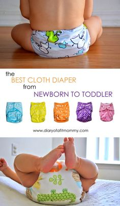 The Best Cloth Diapers from Newborn to Toddler   Diary of a Fit Mommy   Bloglovin'