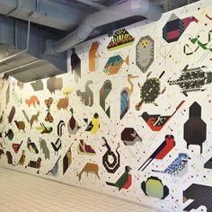 Charley Harper Wallcoverings by Designtex  NeoCon 2013