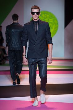 Versace Men's Collection Spring Summer 2014 #VersaceLive #Versacemenswear #Versace
