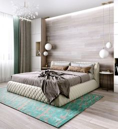 bedroom flooring Highest Ideas For Wooden Bedroom Floor Design With Rustic Style Modern Master Bedroom, Master Bedroom Design, Home Bedroom, Bedroom Decor, Bedroom Ideas, Contemporary Bedroom, Bedroom Simple, Bedroom Red, Bedroom Lighting