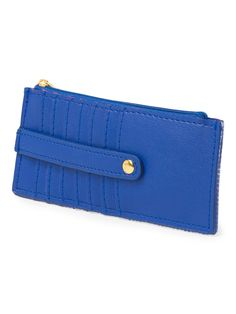 This compact credit card case is perfect to throw in your purse or to take out for a night without a bag.