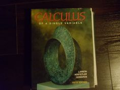 Calculus of A Single Variable 5th Edition Larson Hostetler Edwards | eBay