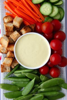 Classic Caesar Dressing from Weelicious: inspire kids to eat their veggies!