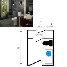 Nice Small Bathroom Layouts 15 Free Sample Bathroom Floor Plans Small To Large
