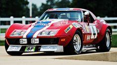 Este Chevrolet Corvette competiu pela Ferrari nas 24 Horas de Le Mans de 1972