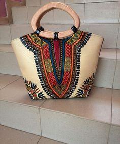 Dashiki africain Ankara sac à main sac africain par NasikAfro