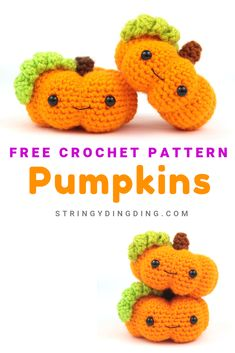 Pumpkin Amigurumi & Free Crochet Pattern You can crochet so many cute pumpkins with this free amigurumi pattern! Visit our site to make it. The post Pumpkin Amigurumi & Free Crochet Pattern appeared first on Home. Crochet Pattern Free, Crochet Fox, Crochet Patterns Amigurumi, Cute Crochet, Crochet Crafts, Crochet Dolls, Crochet Pumpkin Pattern, Autumn Crochet, Crocheting Patterns