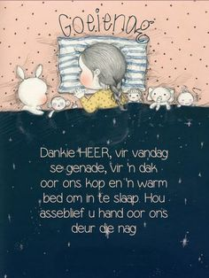 Good Night Greetings, Goeie Nag, Christian Messages, Warm Bed, Good Night Sweet Dreams, Afrikaans, Verses, Teddy Bear, Words