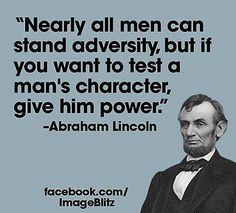 Lincoln, by his own words, a tyrant and warmonger. Deeds DO define character, and his war of aggression on the south, no matter how evil you view it's transgressions, was the act of a dictator.