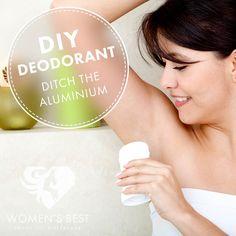 DIY deodorant, ditch the drugstore version! #womensblog