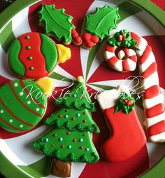 Christmas Time Cookie Arrangement