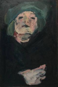 """Saatchi Art Artist jacqueline hoebers; Painting, """"Madame"""" #art"""