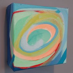 Day 39/100 6 x 6 oil painting on canvas $85 This is one painting that was…
