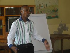 Samuel Leading the financial training