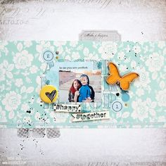 Layout by Tusia Lech for UmWowStudio DT with 7 Dots Studio products and WowEmbossing