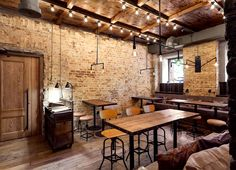 Bottega Wine and Tapas by #Kleydesign.com Studio in Kiev, Ukraine.