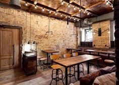 Bottega Wine and Tapas by #Kleydesign.com Studio in Kiev, Ukraine.