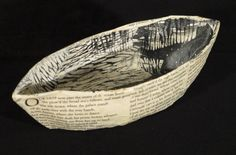 Kathryn Madill, Sea Wife, papier mache woodcut, 1 of 1, 2013. NZ$240 incl GST.