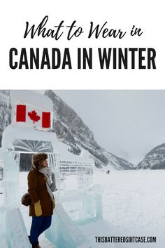 Heading to Canada in winter? Here's what you're going to want to wear. A detailed packing list for winter in Canada! Canada Christmas, Canada Holiday, Christmas Travel, Canadian Winter, Canadian Rockies, Winter Packing, Winter Travel, Canada Travel, Canada Trip