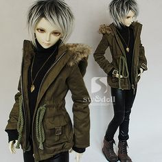 New Cool Army Pants For BJD 1//4,1//3,SD17 Uncle  Doll Clothes CMB158