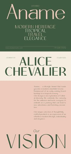 Anâme on Behance, Minimalist branding and typeface. Web design inspiration and perfect modern graphic design, sleek, clean and classic. Beautiful Typography, Modern Typography, Modern Fonts, Vintage Typography, Typography Letters, Graphic Design Typography, French Typography, Vintage Logos, Vintage Branding