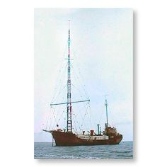 Broadcasts on CD by Offshore Pirate Radio Stations off the coast of Britain available to buy at The Nostalgia Store Medium Waves, Short Waves, Tower Of Power, Merchant Navy, Radio Wave, Ham Radio, Kinds Of Music, Towers, The Outsiders