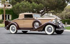 1933 Packard Eight Coupe Roadster | Gooding & Company