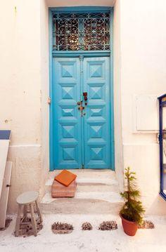 The Blue Door, Mykonos, Greece