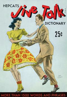 "Hepcat's Jive Talk Dictionary ~ ""Swing dancing"" is an umbrella term for any dance done to swinging jazz music from the 1920s, 30s or 40s. The most popular (and spectacular) of these dances was the Lindy Hop - a partnered dance that evolved out of the Charleston in the late 1920s, in Harlem New York.   It is named after aviator Charles Lindbergh (1927 newspaper headlines read ""Lindy Hops The Atlantic""). It is sometimes just called The Lindy, and some parts of the world knew it as The…"