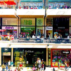 So much temptation at Bristol's #cabotcircus #shopping centre... where do we start? #spendallthemoney #bristol