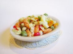No instructions, just food.  1/12 but would make 1/3 Italian pasta salad by WaterGleam on deviantART