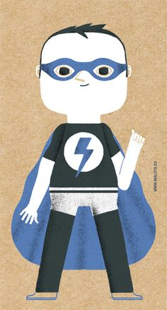 Superhero - Malota -www.malota.es