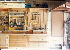 Get your shop organized and looking good.