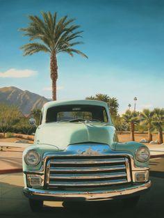 GMC-Truck-sizedPaintings of LA by Danny Heller