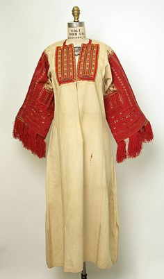 Women's costume and embroidery of the Miyaks, Galičnik and other villages, Macedonia Greek Traditional Dress, Traditional Outfits, Ethnic Fashion, Womens Fashion, Costumes Around The World, Clothing Patterns, Folk Clothing, Folk Costume, Historical Costume