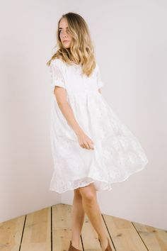 Piper & Scoot: The Ellie Dress in White Baby Shower Registry, Piper And Scoot, Baby Shower Wishes, White Dress, Dreams, Collection, Fashion, Moda, Fashion Styles