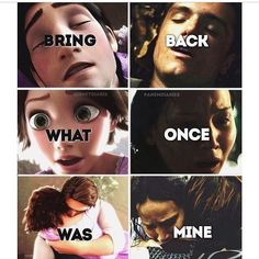 Disney Tangled/ The Hunger Games: Catching Fire