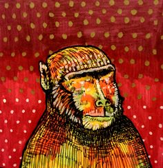 Rhesus Macaques: An Animal of Interest By Arpita Choudhury via The Science of Illustration