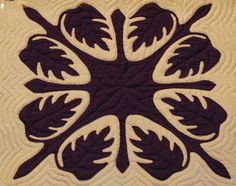 Hawaiian Quilts - Simple enough to try, elaborate enough to keep my interest.  First one?