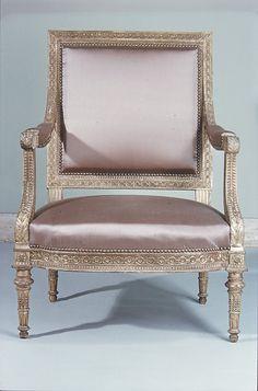 Armchair from Louis XVI's Salon des Jeux at Saint Cloud c.1788 Georges Jacob  (1739–1814, master 1765)