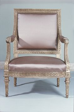 Armchair from Louis XVI's Salon des Jeux at Saint Cloud c.1788 Georges Jacob (1739–1814, master 1765)