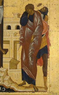 Iconostas Rusia sec. Byzantine Icons, Byzantine Art, Religious Icons, Religious Art, Crucifixion Of Jesus, Russian Icons, Art Icon, High Art, Orthodox Icons