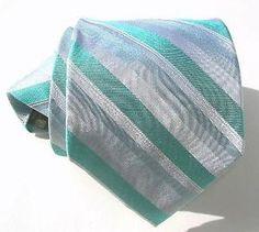 Seafoam green tie.