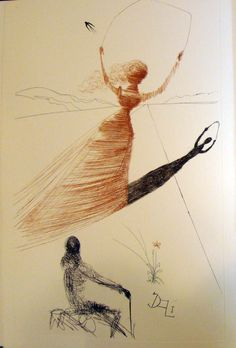 Salvador Dali, Alice's Adventures in Wonderland, 1969.
