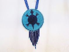 Vintage Apache Beaded Necklace with Beaded by PortalsMagicCloset