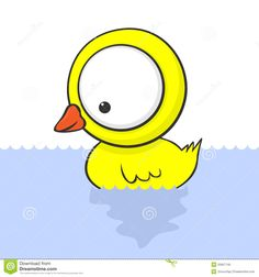 Mr. Ducks Cute Cartoon Drawings Of Animals With Big Eyes