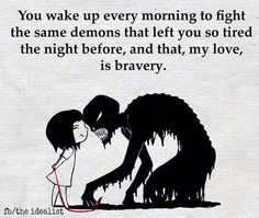You are Braver than the beast within you