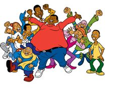 This represents my past and my present. I loved Fat Albert as a child. Thanks to Hulu, my child loves it too! #heyheyhey  http://www.classicmedia.tv/pr/fatalbert/art/hero_art1.jpg
